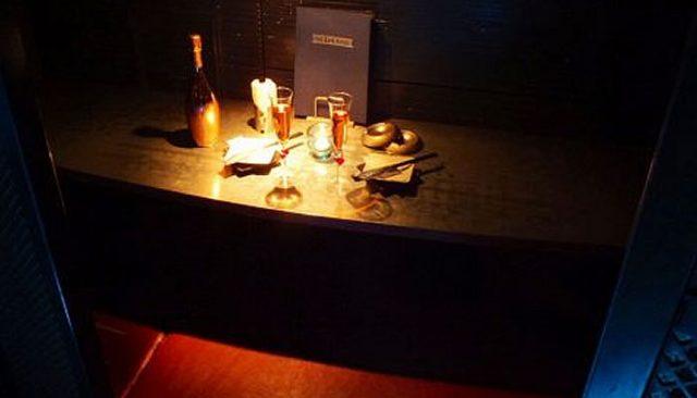 新宿の個室居酒屋で元カノと乾杯
